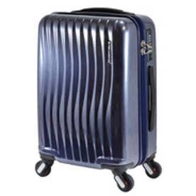 【SAC'S BAR】FREQUENTER フリクエンター WAVE スーツケース 1-622-47 47cm ヘアラインネイビー