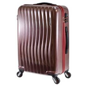 【SAC'S BAR】FREQUENTER フリクエンター WAVE スーツケース 1-621-58 58cm ヘアラインレッド