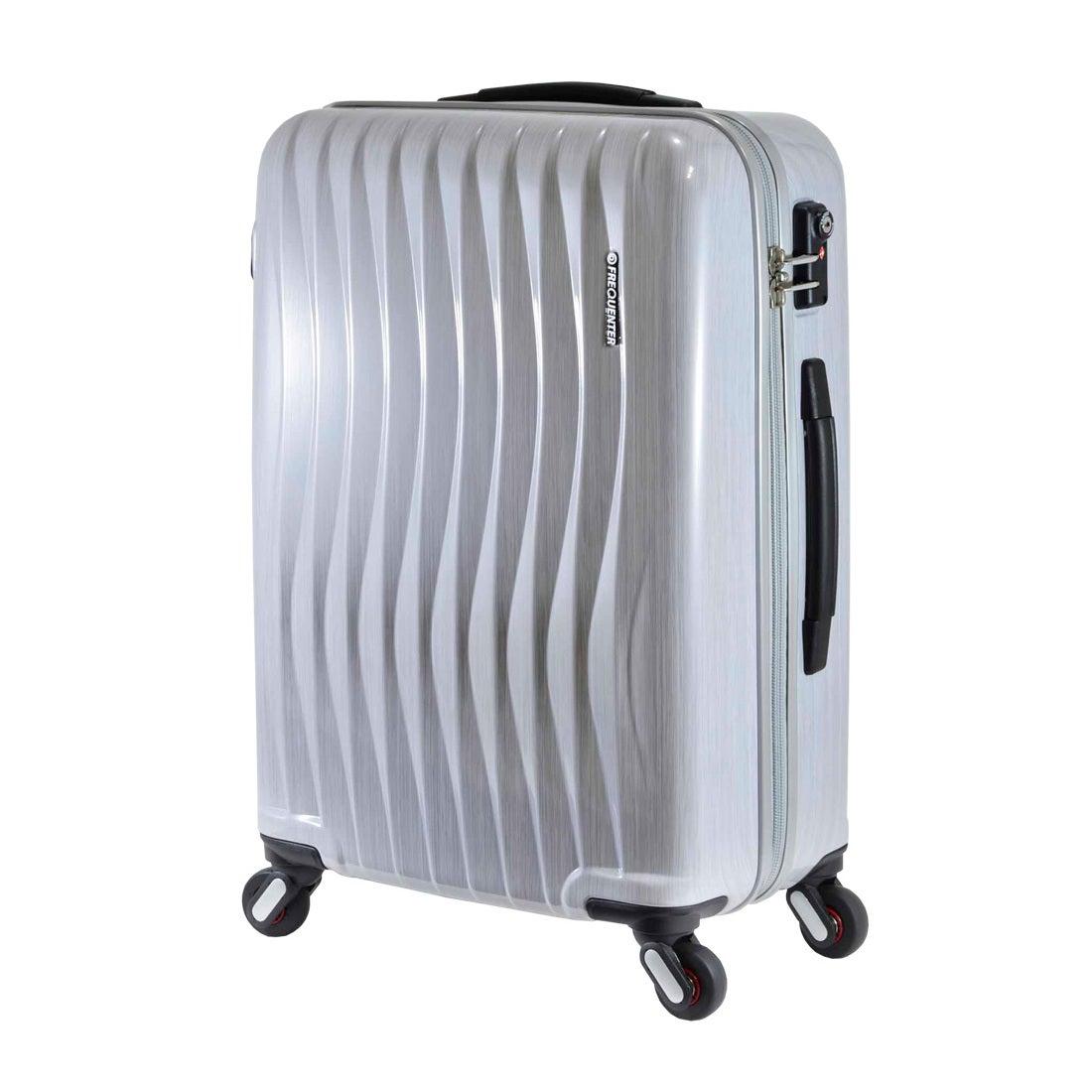 【SAC'S BAR】FREQUENTER フリクエンター WAVE スーツケース 1-621-58 58cm ヘアラインホワイト メンズ