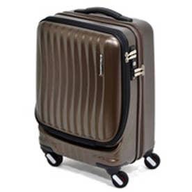 【SAC'S BAR】フリクエンター FREQUENTER スーツケース 1-216 46cm CLAM A チョコ