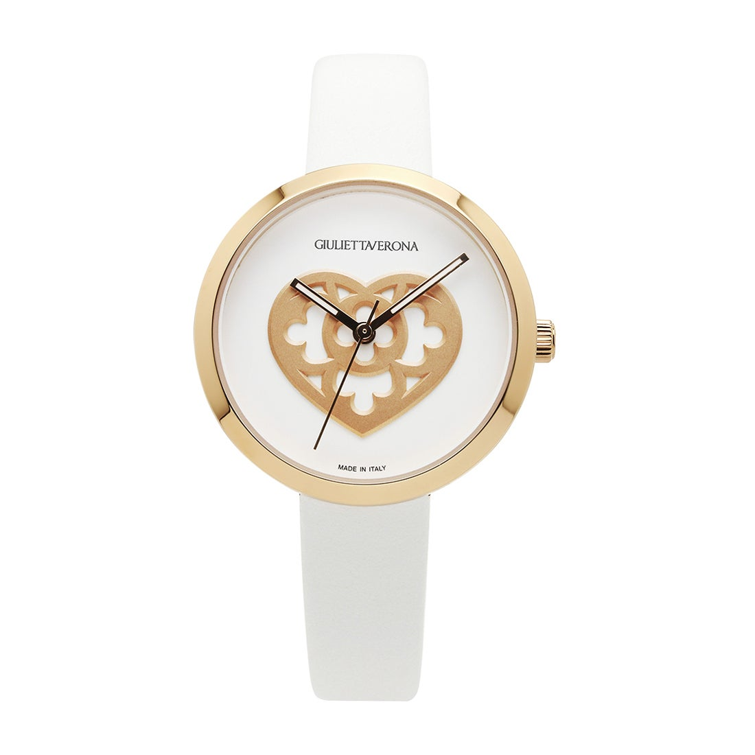 【SAC'S BAR】ジュリエッタヴェローナ GIULIETTAVERONA 腕時計 GV001 LOVE MEMORY ホワイト×ホワイト