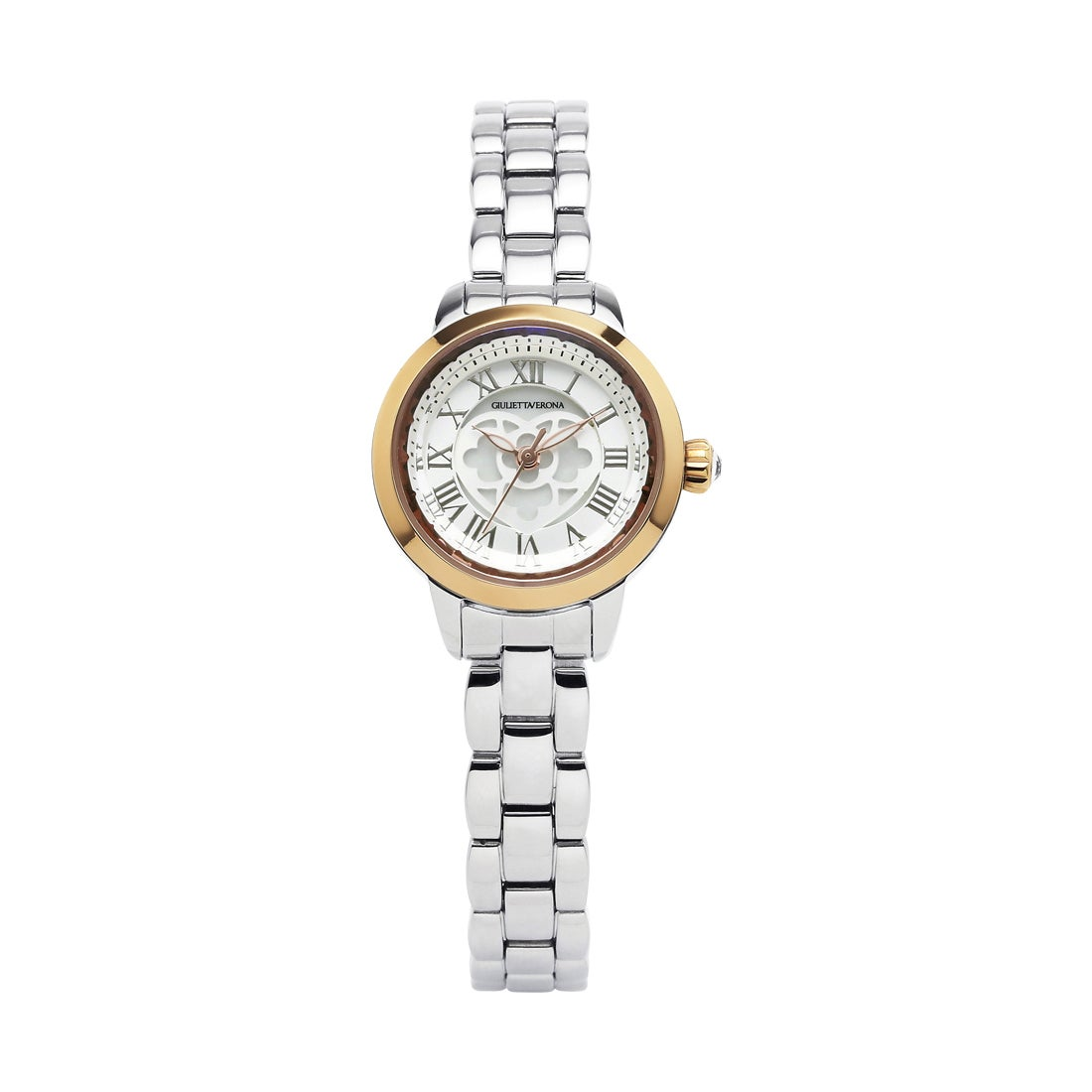 【SAC'S BAR】ジュリエッタヴェローナ GIULIETTAVERONA 腕時計 GV003T LOVE VERONA シルバー×シルバー