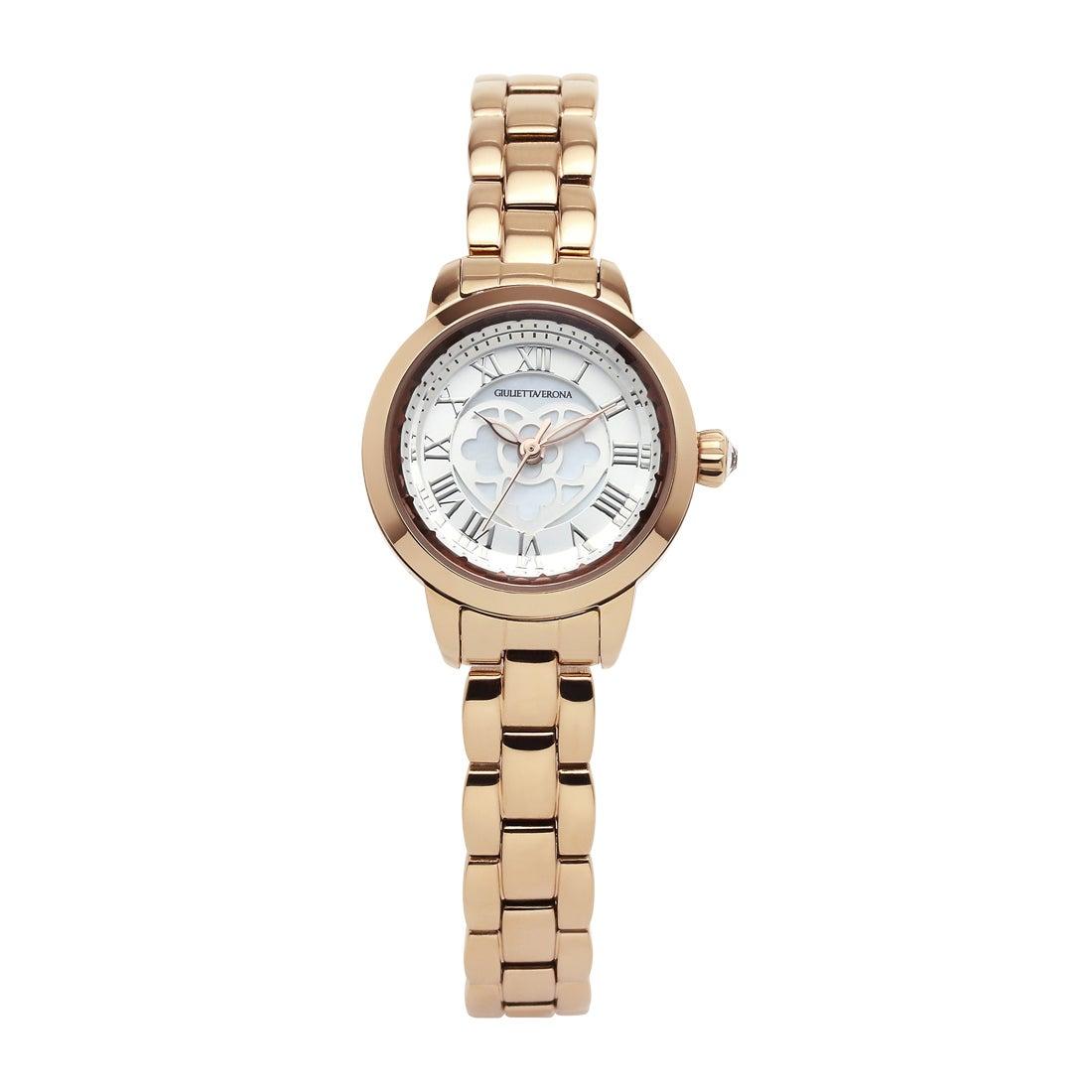 【SAC'S BAR】ジュリエッタヴェローナ GIULIETTAVERONA 腕時計 GV003P LOVE VERONA シルバー×ゴールド