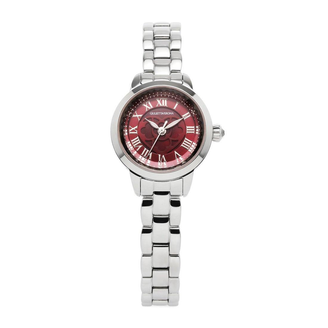 【SAC'S BAR】ジュリエッタヴェローナ GIULIETTAVERONA 腕時計 GV003S LOVE VERONA ピンク×レッド