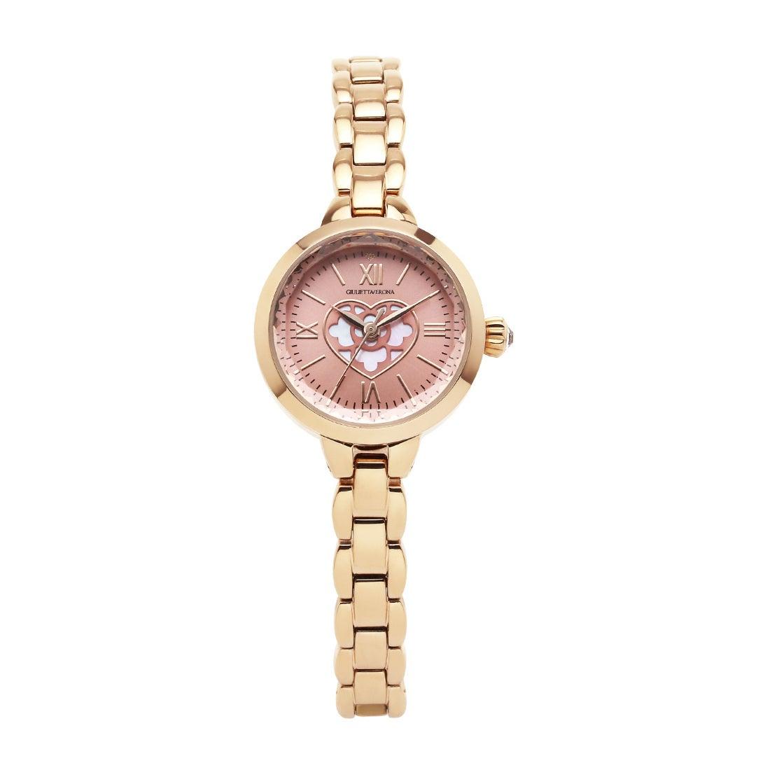 【SAC'S BAR】ジュリエッタヴェローナ GIULIETTAVERONA 腕時計 GV004P PURE GIULIETTA ピンク×ゴールド