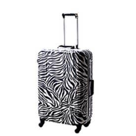 【SAC'S BAR】ヒデオ ワカマツ HIDEO WAKAMATSU スーツケース 85-74152 57cmゼブラ アニマルシリーズ レッド