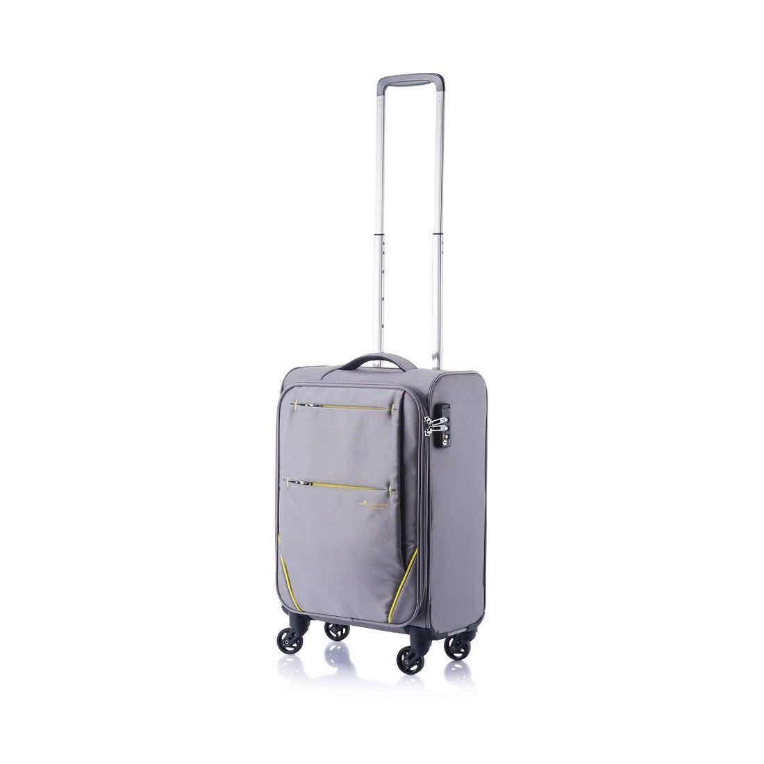 【SAC'S BAR】ヒデオワカマツ HIDEO WAKAMATSU スーツケース フライII 85-7600 46cm 【5】グレー メンズ