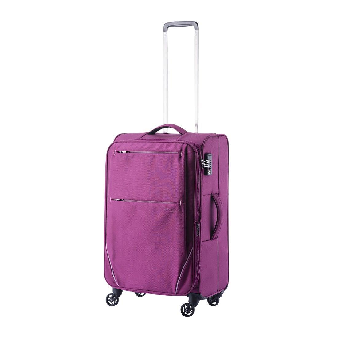 【SAC'S BAR】ヒデオワカマツ HIDEO WAKAMATSU スーツケース フライII 85-7601 57cm 【3】ワイン メンズ