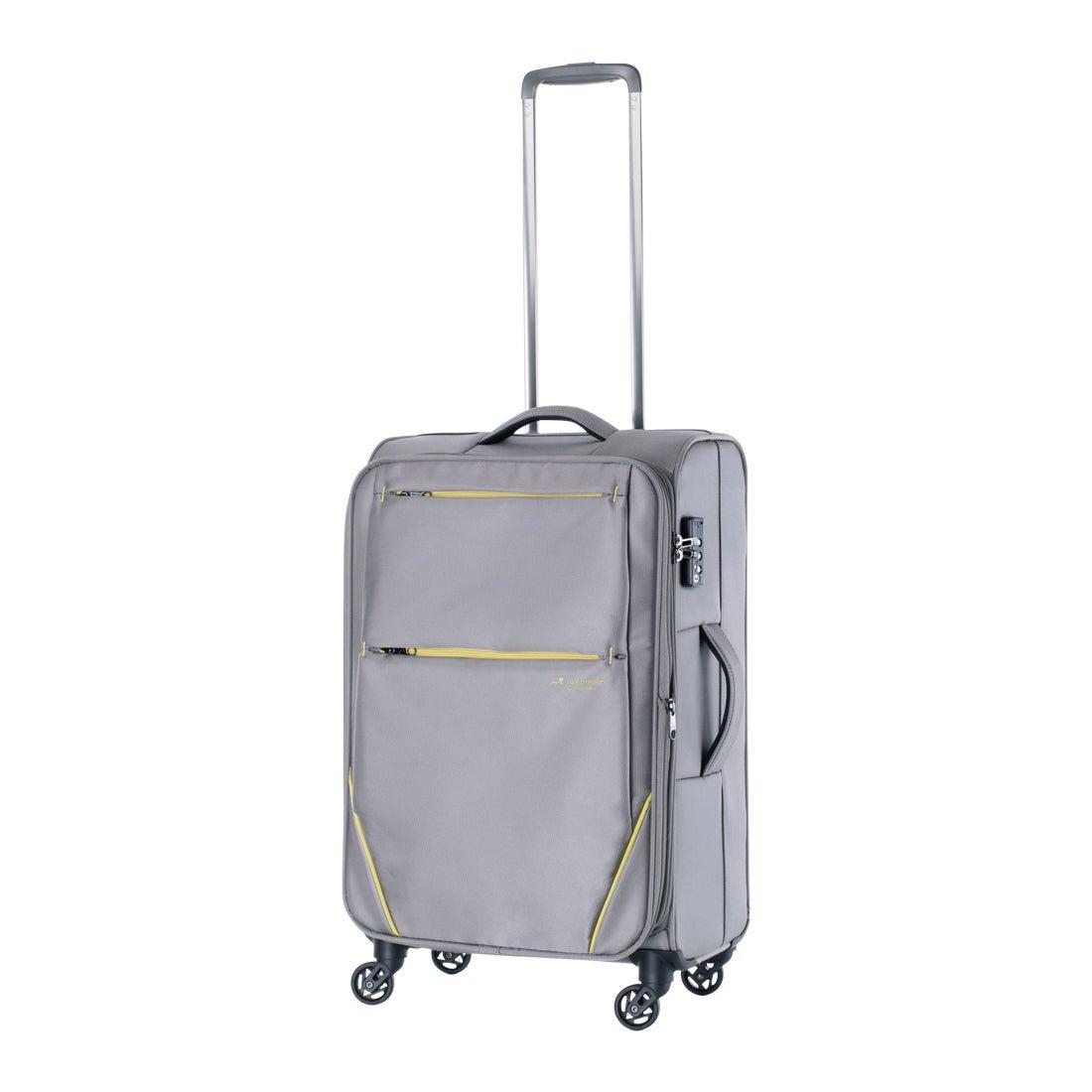 【SAC'S BAR】ヒデオワカマツ HIDEO WAKAMATSU スーツケース フライII 85-7601 57cm 【5】グレー メンズ