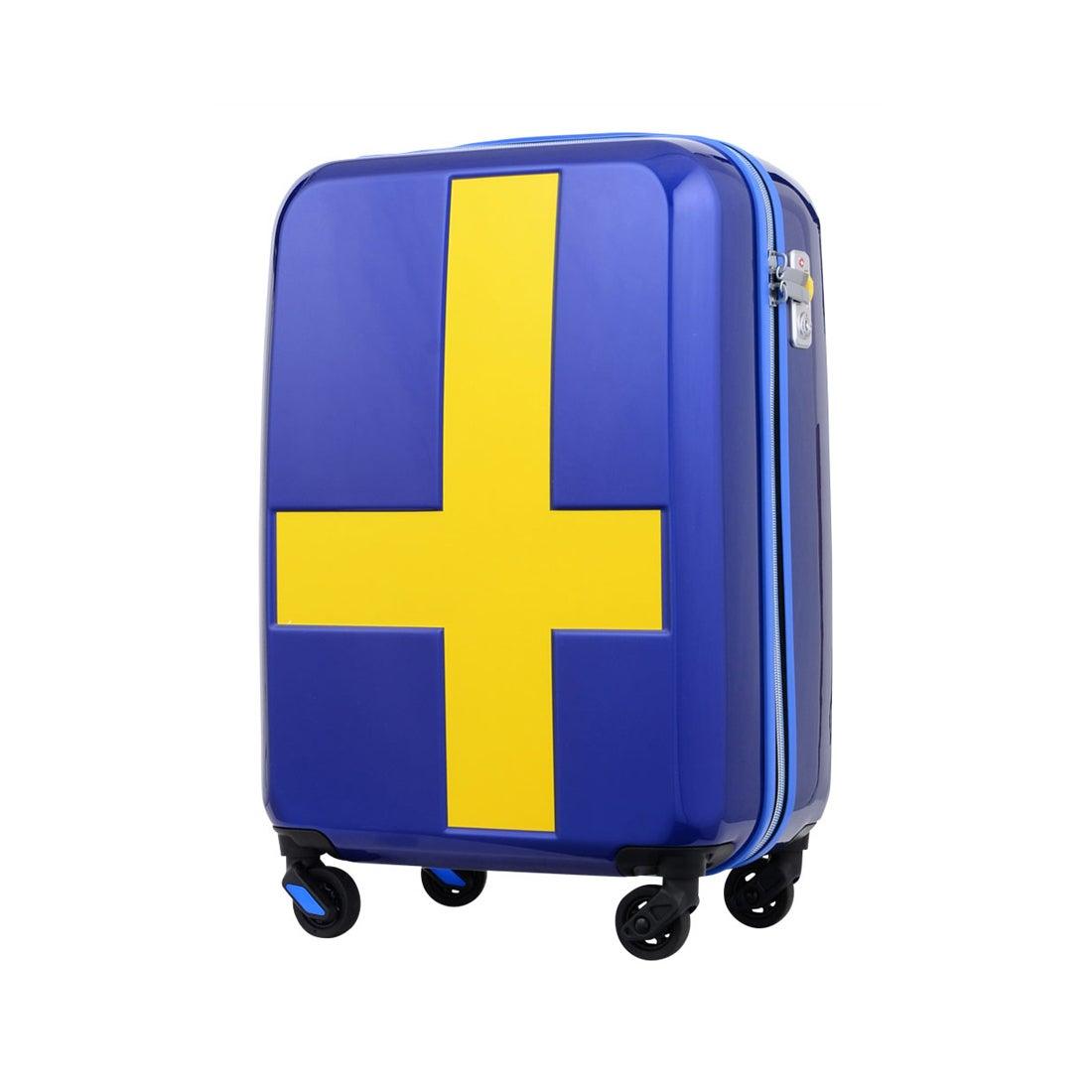 【SAC'S BAR】イノベーター スーツケース INV55/55T 55cm 【INV55T】S.BLUE/YELLO メンズ