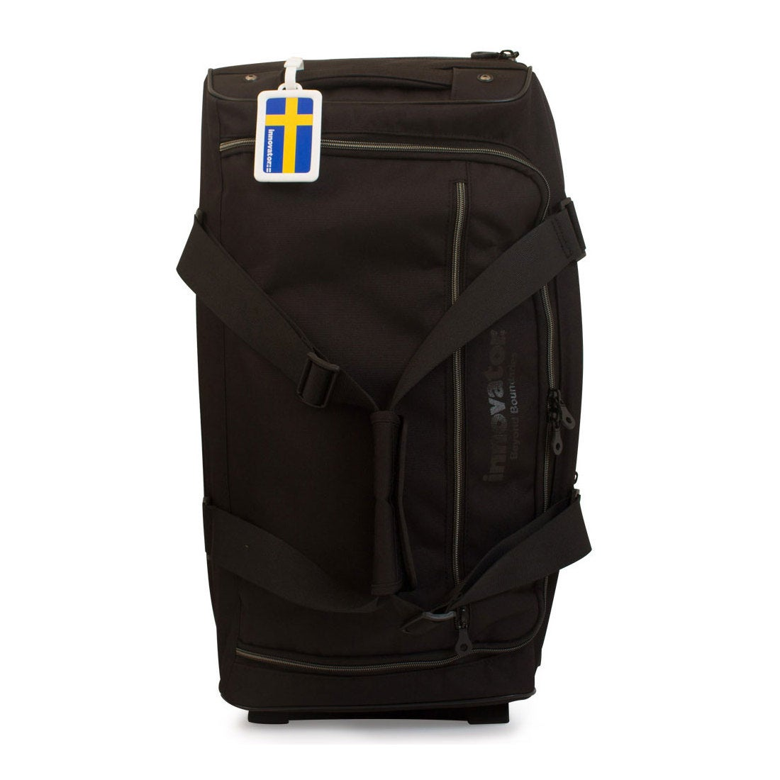 【SAC'S BAR】イノベーター innovator スーツケース GI-5322CD 66cm GIコーデュラ BLACK/BLACK メンズ