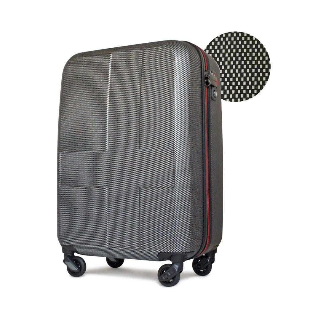 【SAC'S BAR】イノベーター スーツケース INV55/55T 55cm 【INV55】BK-CROSS-CARB メンズ
