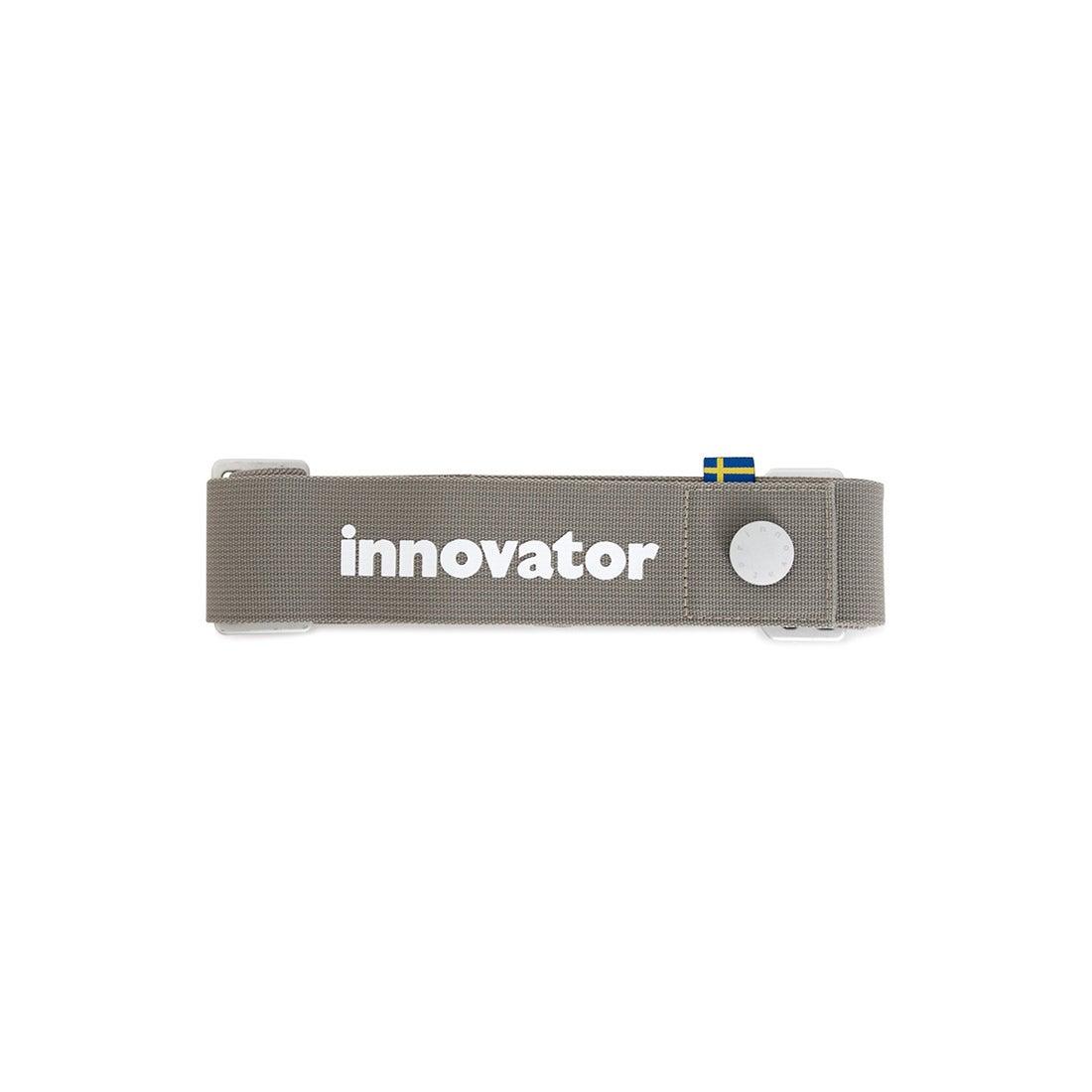 【SAC'S BAR】イノベーター innovator スーツケースベルト INT11B GRAY メンズ