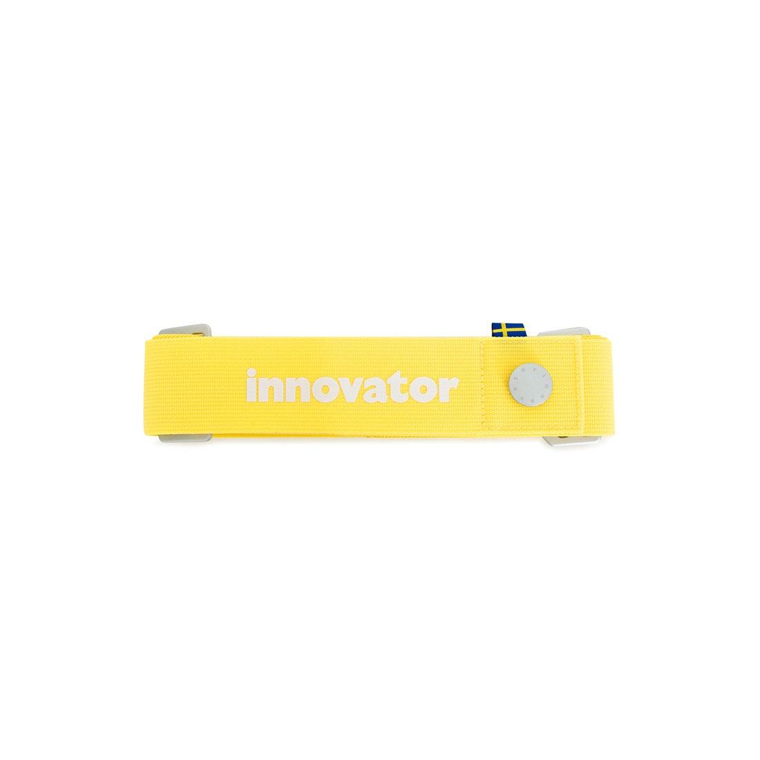 【SAC'S BAR】イノベーター innovator スーツケースベルト INT11B YELLOW メンズ