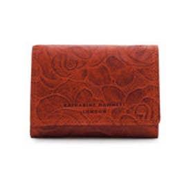 【SAC'S BAR】キャサリンハムネット 財布 KHP302 【42】オレンジ