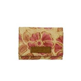 【SAC'S BAR】キャサリンハムネット 三つ折財布 KHP263 【24】ピンク