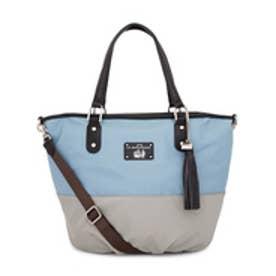 【SAC'S BAR】ラバガジェリー LA BAGAGERIE トートバッグ B61-01-04 【60】ブルー×グレー