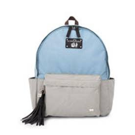 【SAC'S BAR】ラバガジェリー LA BAGAGERIE リュックサック Mサイズ B61-01-08 【60】ブルー×グレー