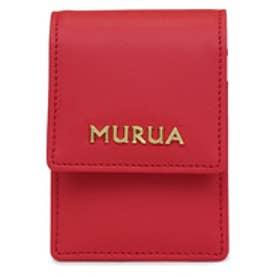 【SAC'S BAR】ムルーア MURUA リップケース MR-W083 レッド