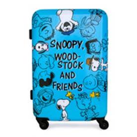 【SAC'S BAR】ピーナッツ peanuts スヌーピー SNOOPY キャリーケース PN-004 55cm (FRIEND/SKY)