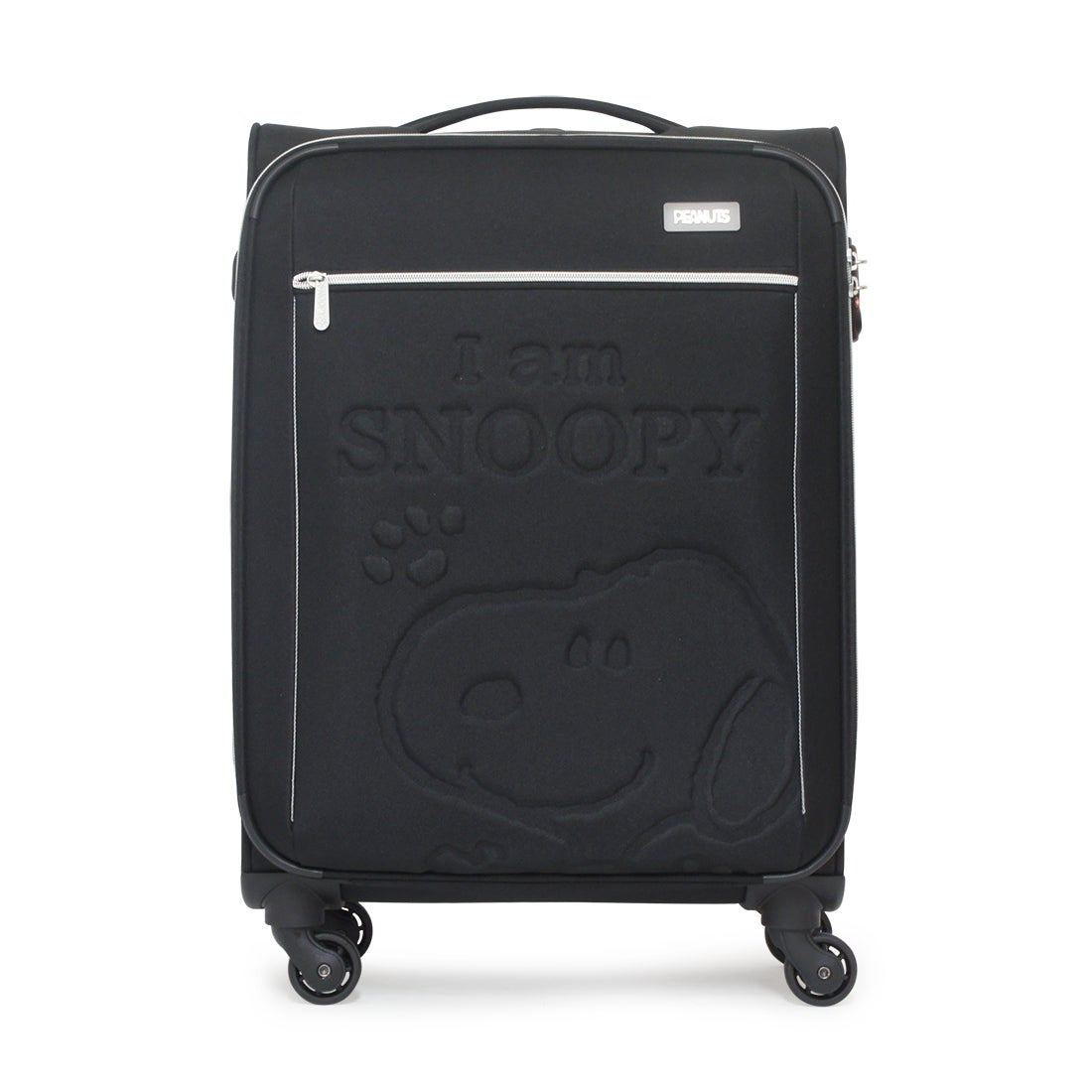 【SAC'S BAR】スヌーピー SNOOPY ソフトキャリーケース PN-006 54cm BLACK レディース
