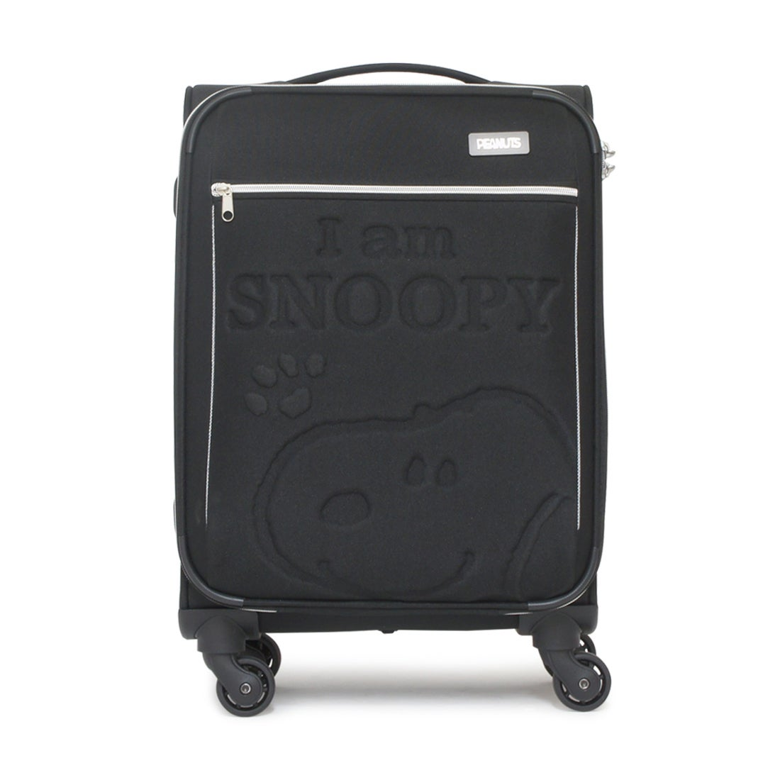 【SAC'S BAR】スヌーピー SNOOPY ソフトキャリーケース PN-005 46cm BLACK レディース