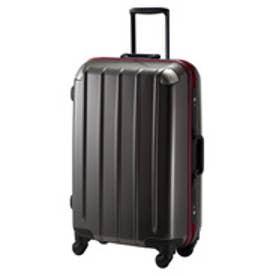 【SAC'S BAR】プラスワン スーツケース swift Frame 5510-64 ホワイト 64cm ブラックカーボン
