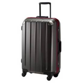 【SAC'S BAR】プラスワン スーツケース swift Frame 5510-57 ホワイト 57cm ブラックカーボン
