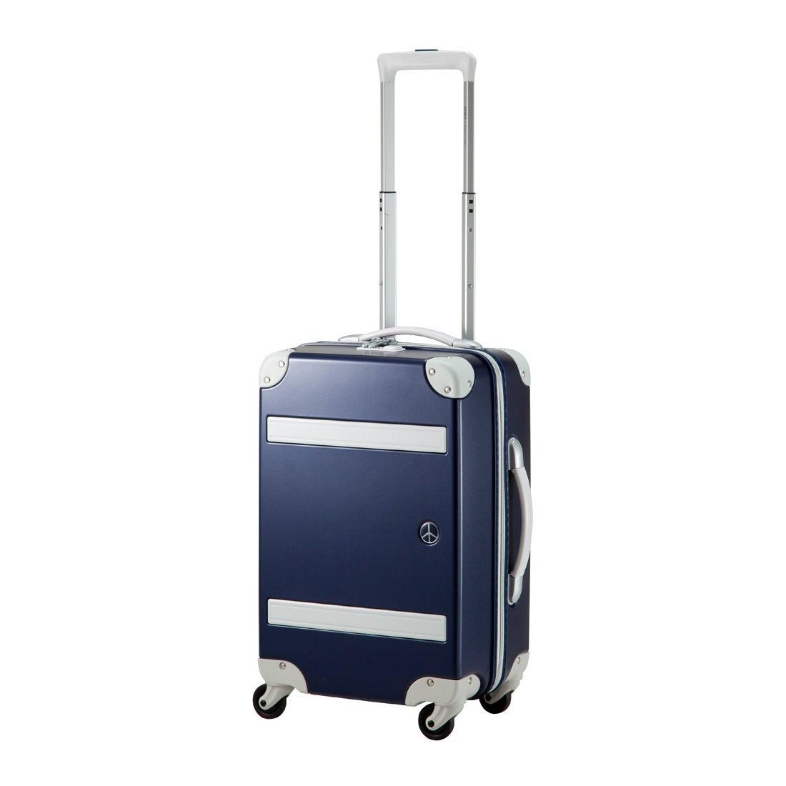 【SAC'S BAR】プラスワン スーツケース PEACE×Passenger 8170-49 49cm トラッドネイビー メンズ