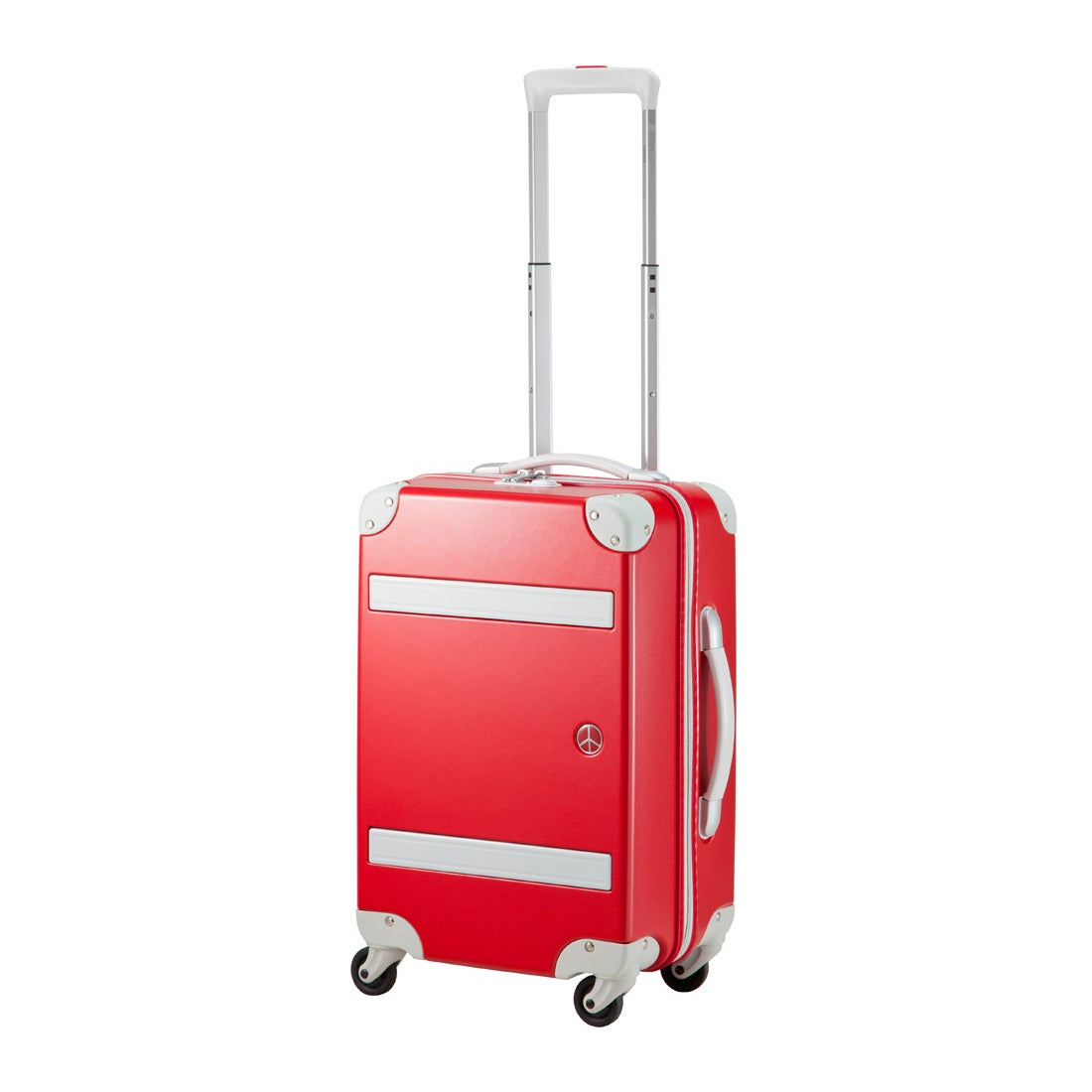 【SAC'S BAR】プラスワン スーツケース PEACE×Passenger 8170-49 49cm アップルレッド メンズ