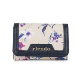 【SAC'S BAR】リエンダ rienda カードケース r03708208 【11】ベージュ
