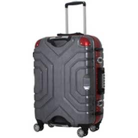 【SAC'S BAR】シフレ Siffler スーツケース ESCAPE`S グリップマスター B5225T-44 44cm ヘアラインブラック/レッド