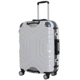 【SAC'S BAR】シフレ Siffler スーツケース ESCAPE`S グリップマスター B5225T-44 44cm ヘアラインホワイト/ブルー
