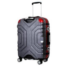 【SAC'S BAR】シフレ Siffler スーツケース ESCAPE`S グリップマスター B5225T-67 67cm ヘアラインブラック/レッド