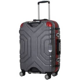 【SAC'S BAR】シフレ Siffler スーツケース ESCAPE`S グリップマスター B5225T-58 58cm ヘアラインブラック/レッド