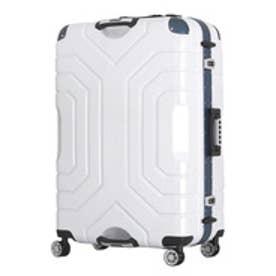 【SAC'S BAR】シフレ Siffler スーツケース ESCAPE`S グリップマスター B5225T-82 82cm ヘアラインホワイト/ブルー