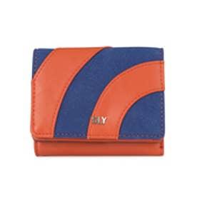 【SAC'S BAR】スライ SLY 三つ折り財布 s09917205 PATCHWORK 【29】オレンジ