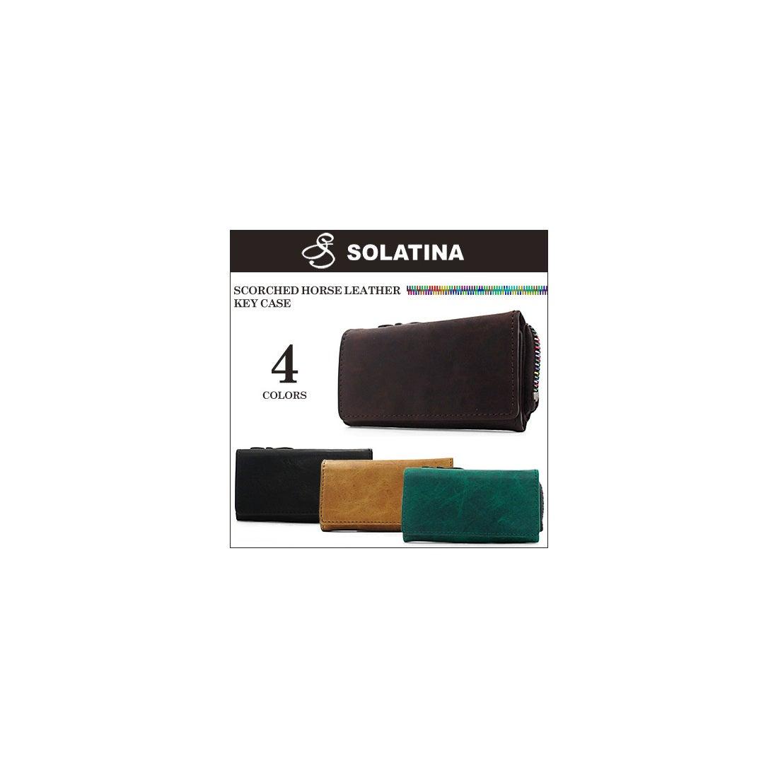 【SAC'S BAR】SOLATINA ソラチナ キーケース 38154 焦げ加工ホースレザー キーケース 全4色 BROWN メンズ