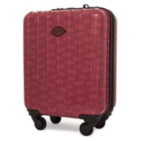 【SAC'S BAR】スパイラルガール SPIRAL GIRL スーツケース 7603103 45cm アルク 【30】レッド