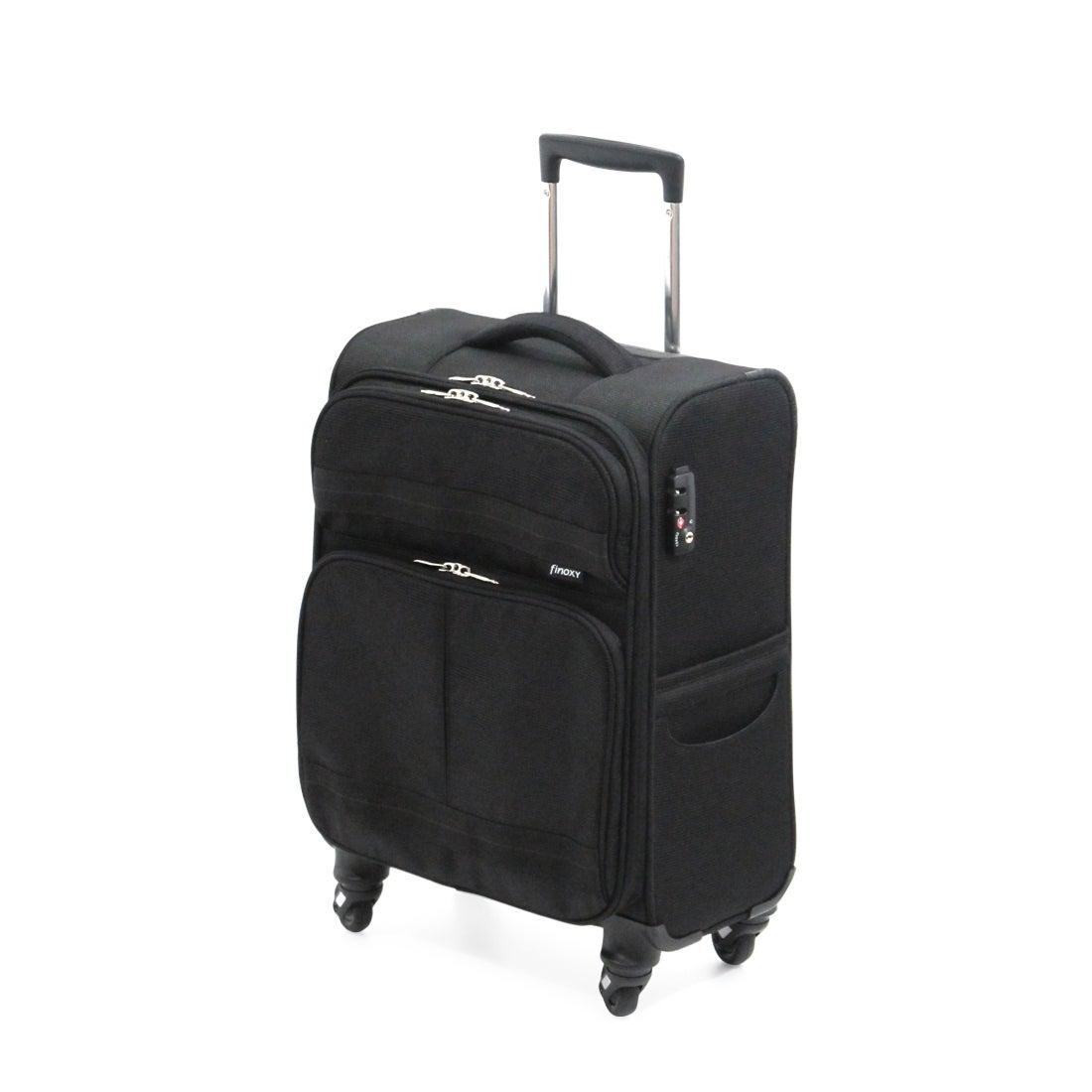 【SAC'S BAR】サンコー SUNCO スーツケース FNXS-46 46cm Finoxy-S ブラック メンズ