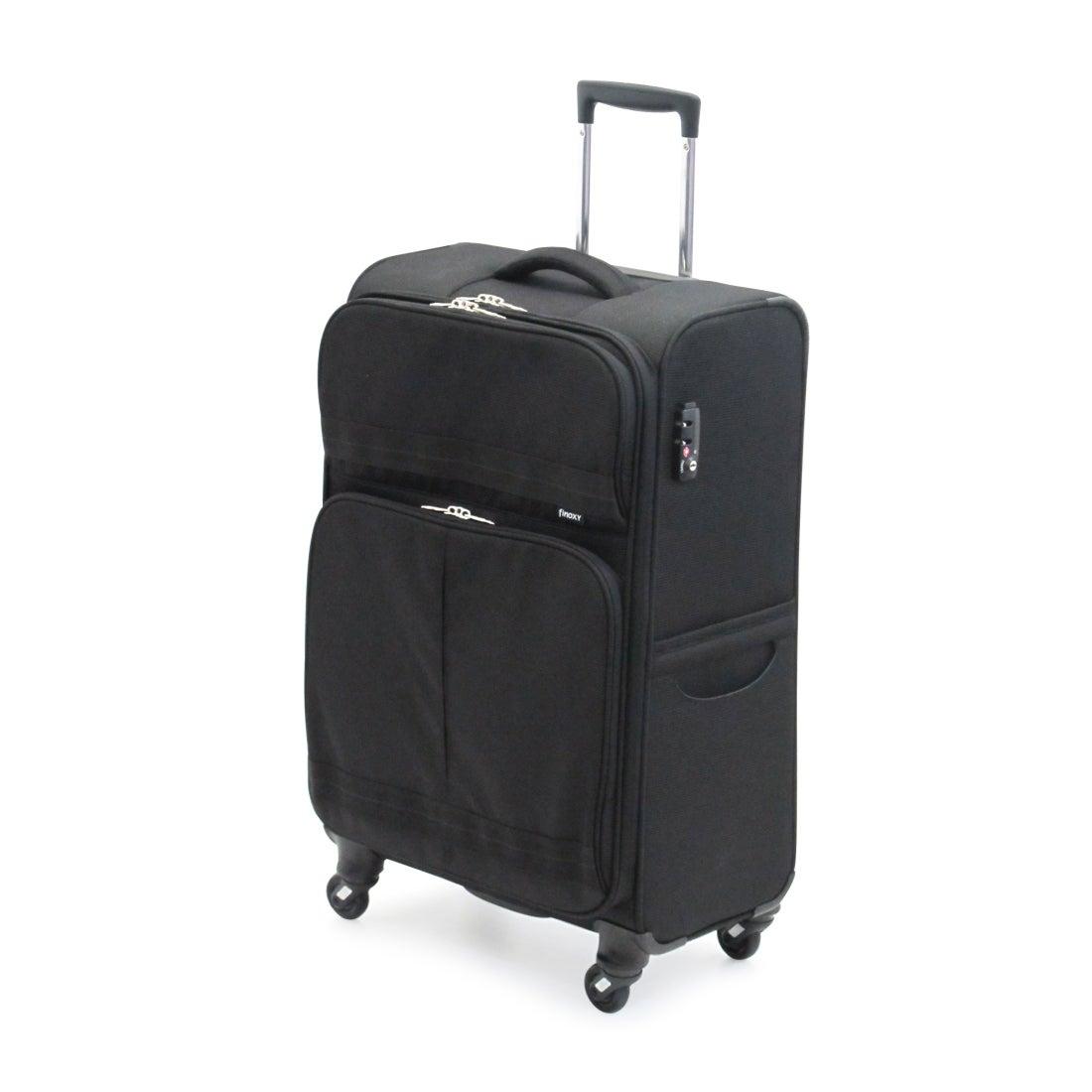 【SAC'S BAR】サンコー SUNCO スーツケース FNXS-60 60cm Finoxy-S ブラック メンズ