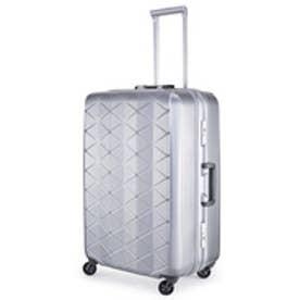 【SAC'S BAR】サンコー SUNCO スーツケース MGC1-63 63cm エンボスヘアラインシルバー