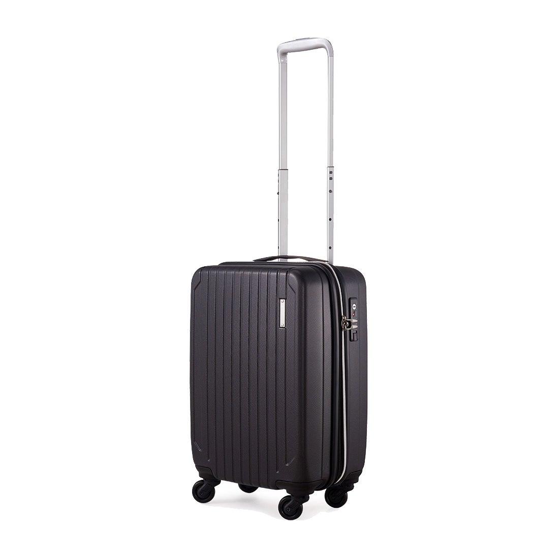 【SAC'S BAR】サンコー SUNCO スーツケース SAAS-46 46cm エンボスブラック メンズ