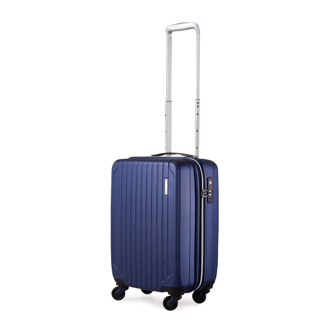 【SAC'S BAR】サンコー SUNCO スーツケース SAAS-46 46cm エンボスネイビー メンズ