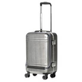 【SAC'S BAR】サンコー SUNCO スーツケース WSW1-47 47cm ヘアラインシルバー