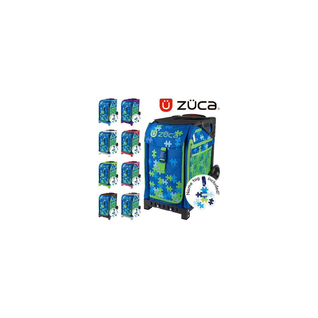 ロコンド 靴とファッションの通販サイト【SAC'SBAR】ZUCASportキャリーケースPuzzle338Green