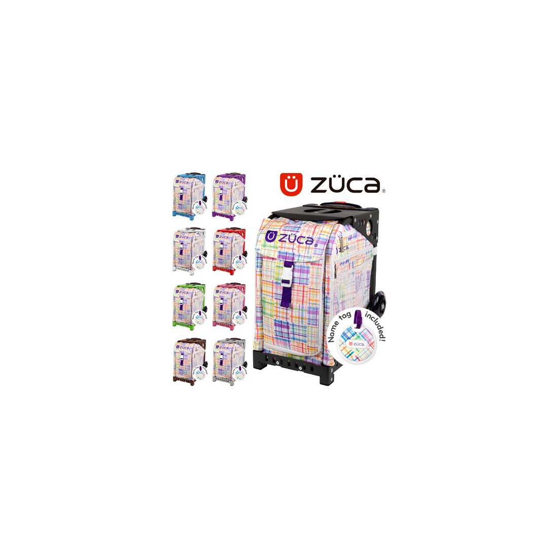 ロコンド 靴とファッションの通販サイト【SAC'SBAR】ZUCASportキャリーケースPatchwork337Black