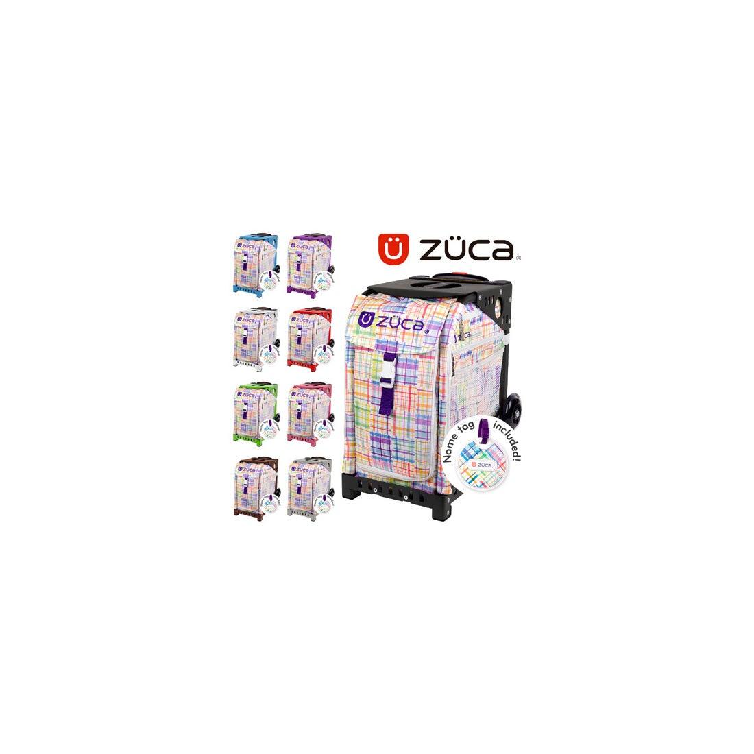 ロコンド 靴とファッションの通販サイト【SAC'SBAR】ZUCASportキャリーケースPatchwork337White