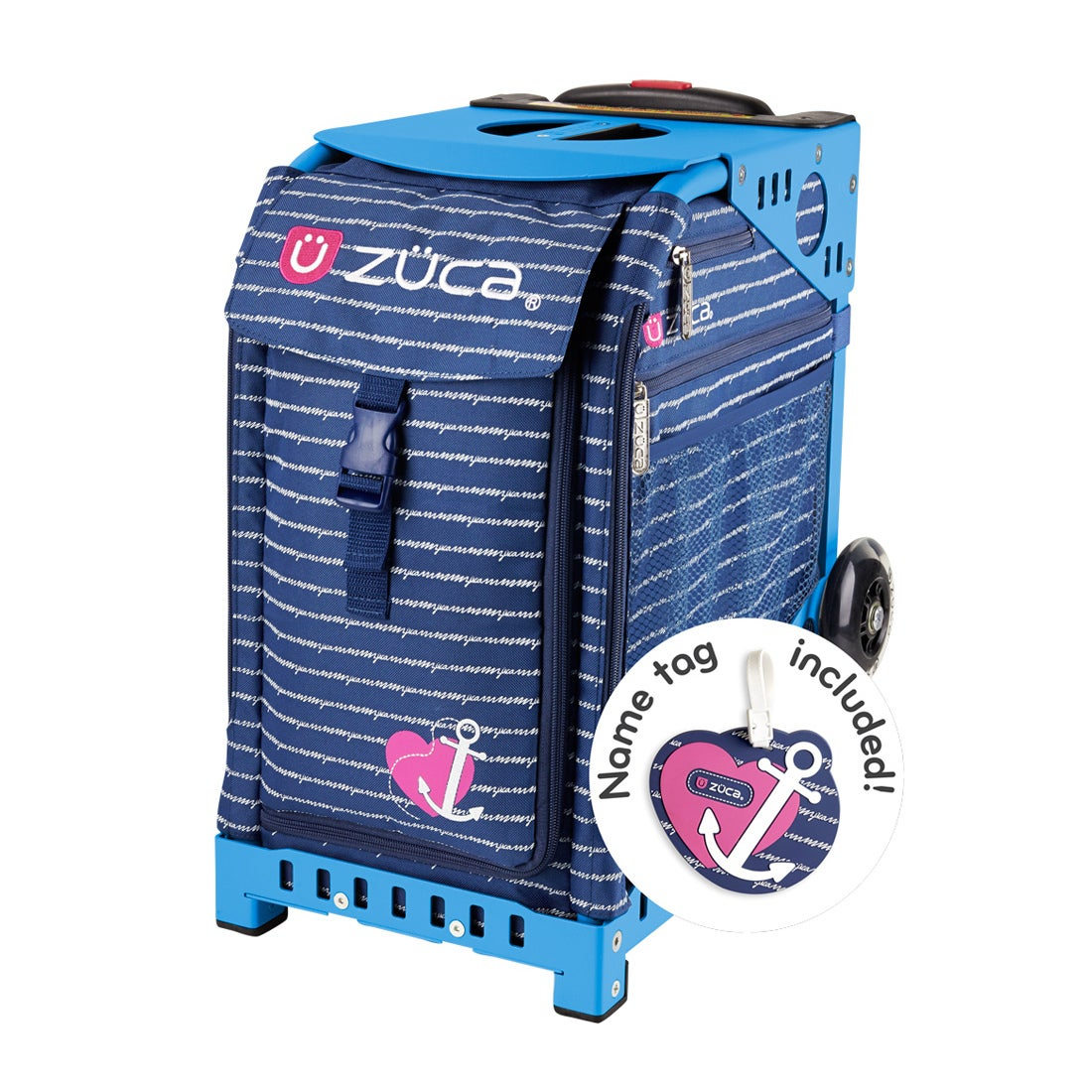 ロコンド 靴とファッションの通販サイト【セット販売】ZUCAスポーツAnchorMyHeart100351Blue