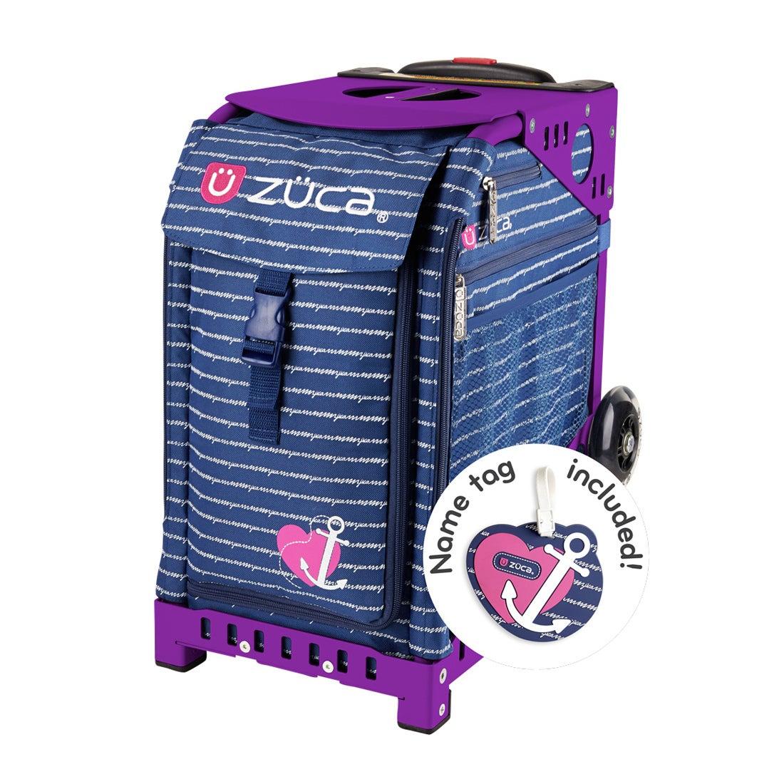 ロコンド 靴とファッションの通販サイト【セット販売】ZUCAスポーツAnchorMyHeart100351Purple